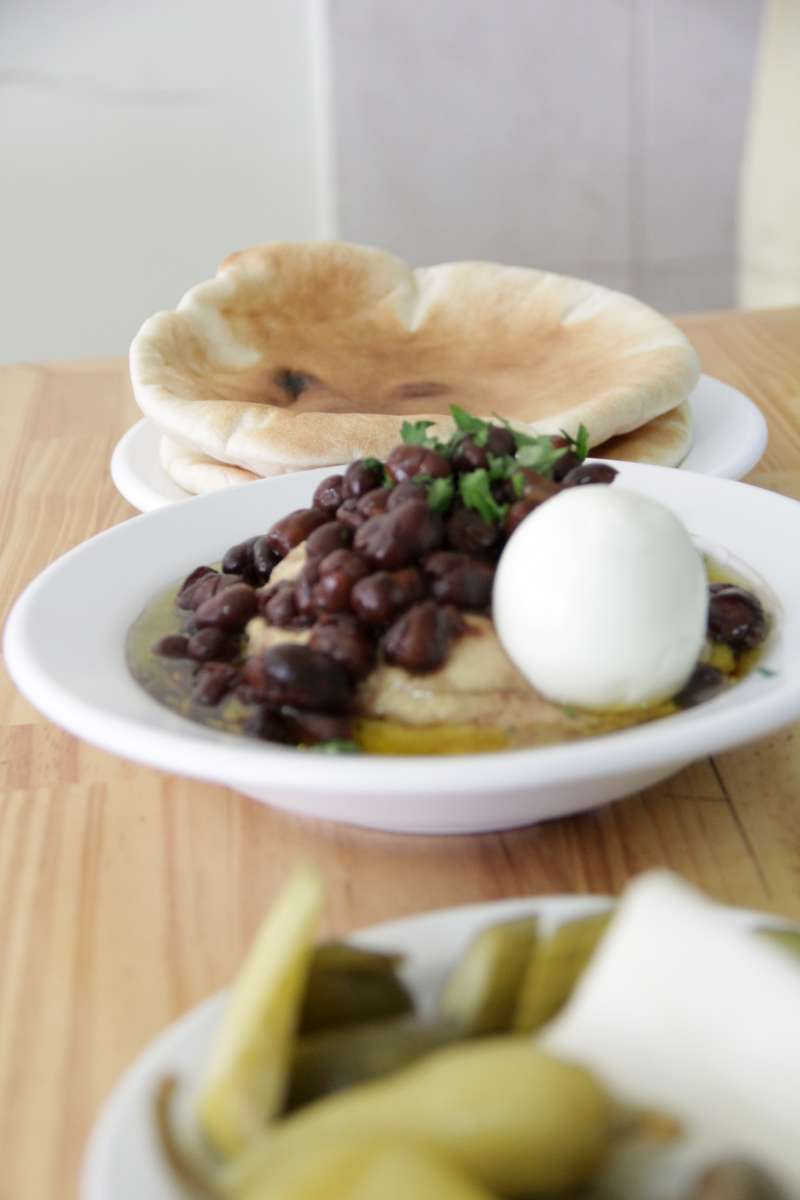 Humus joint - daily fresh chickpeas